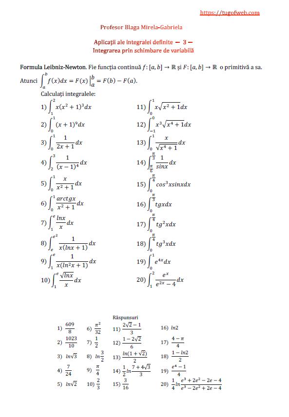 Aplicatii ale integralei definite - 3 - integrarea prin schimbare de variabila.png