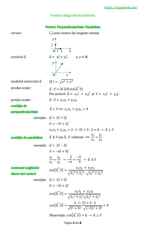 9_Vectori_Perpendicularitate_Paralelism_4