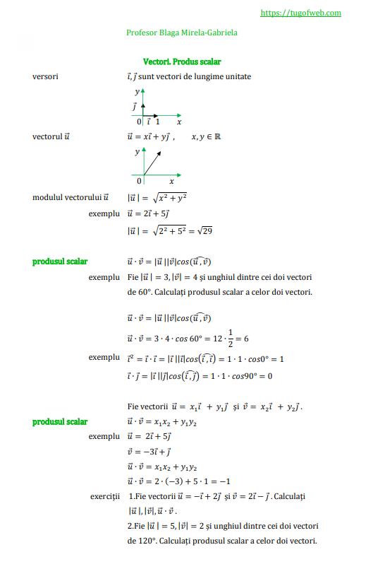 9_Vectori_Produs_scalar_3