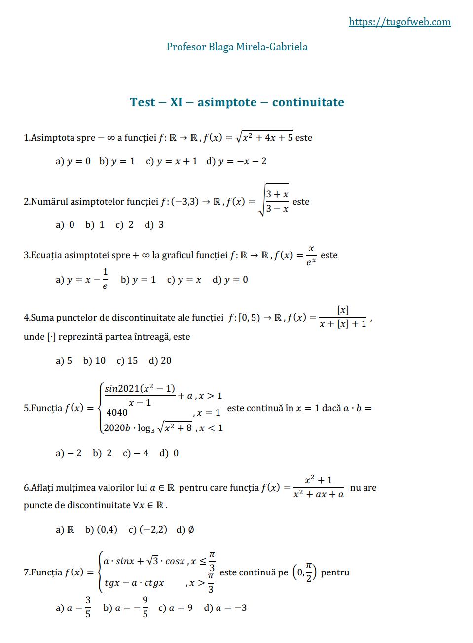11_asimptote_continuitate_2_grile_Blaga