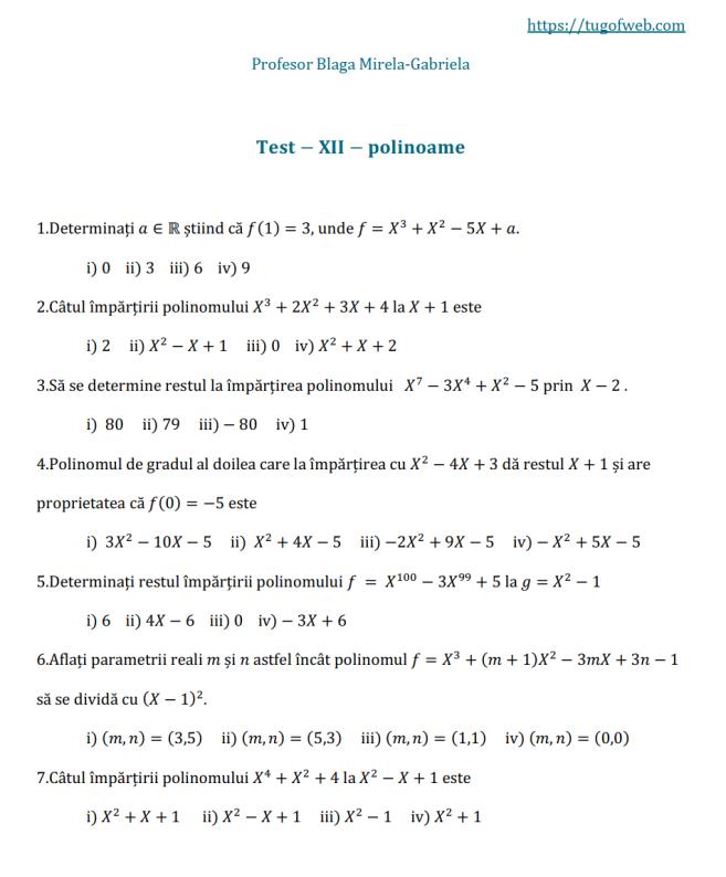12_polinoame_2_grile_Blaga